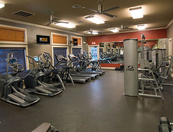 The Edge's Exercise Room