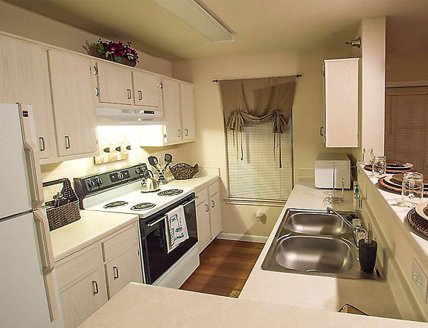 Kitchen at The Edge Apartments