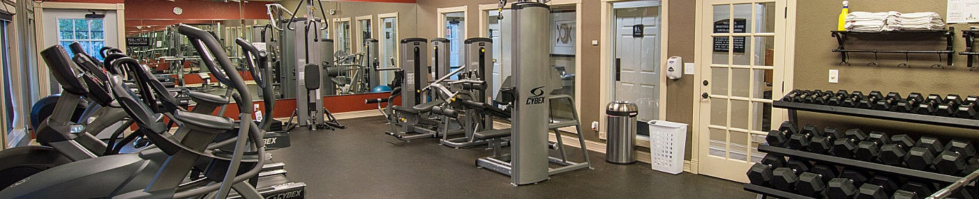 The Edge Apartments Fitness Center